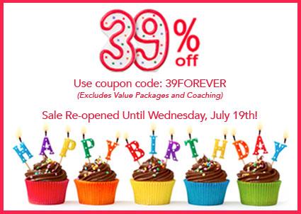 Heather's 39th Birthday - 39% off