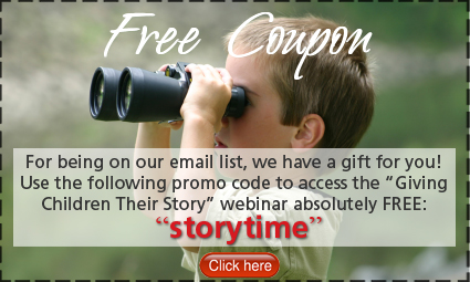 Giving Your Children Their Story Webinar