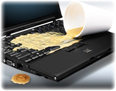 computer spill
